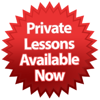 Private Lessons are also available
